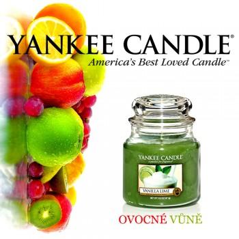 Yankee Candle - Vanilla Lime - střední