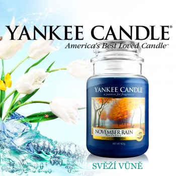 Yankee Candle - November Rain - velká