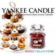 Yankee Candle - Vanilla Bourbon - střední